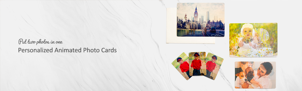 Personalized Animated Photo Cards