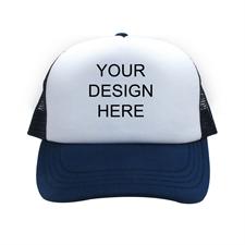 Custom Imprint Full Color Trucker Hat, Navy