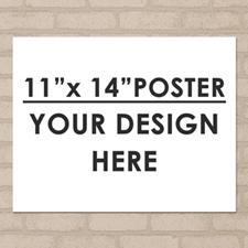 Photo Poster Single Image 11X14 Landscape
