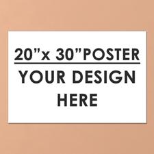 Large Single Photo Poster Print 20X30 Landscape