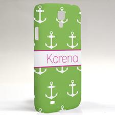 Custom Design Lime Anchors Samsung Phone Case