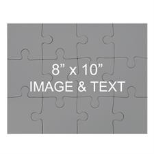 Custom 8 x 10 Magnetic Photo Puzzles, Landscape