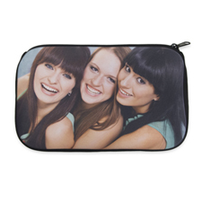 Personalized Neoprene Photo Gallery Cosmetic Bag (6 X 10 Inch)