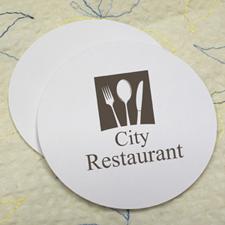 Custom Imprint, Round (Set Of 12) Personalized Coasters