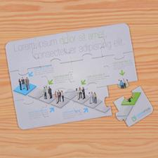 Personalized Corporate Puzzle Invite