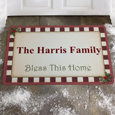 Create Your Own Bless This Home Door Mat