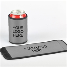 Your Logo Here Can And Bottle Wrap