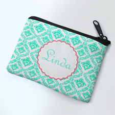 Classic Mint Personalized Coin Purse