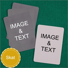 Personalized Skat Custom Cards (Blank Cards) Playing Cards