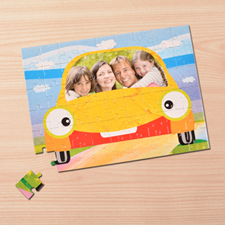 Personalized My Car 12X16.5 Photo Puzzle