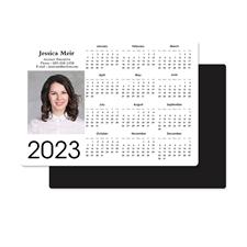 Personalized Portrait Calendar Magnet 3.5