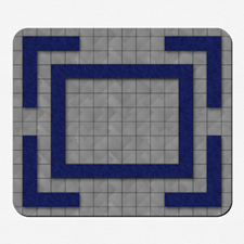 Custom Design 12X14 Game mat