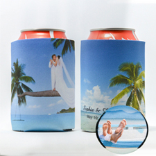 Personalized Can Cooler For Wedding