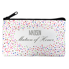 Colorful Dot Personalized Cosmetic Bag