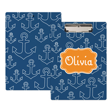 Nautical Personalized Clipboard