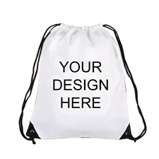 Custom Full Color Print Drawstring Backpack