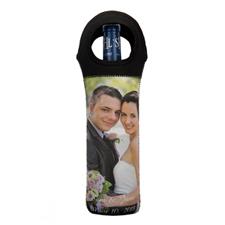 Personalized Photo Neoprene Wine Tote Bag (Custom 1 Side) Bag