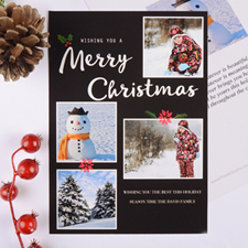 Christmas Collage Personalized Photo Card