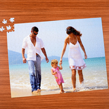 18x24 Personalized Photo Puzzle 70 or 252 or 500 Piece