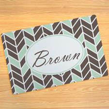 Fairbanks Personalized Doormat 17X27