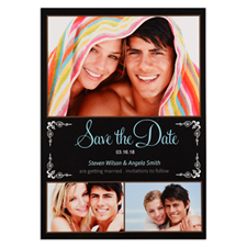 We'Re Getting Married Personalized Photo Save The Date Card