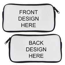 Custom Design Neoprene Pencil Case (Custom front & back)