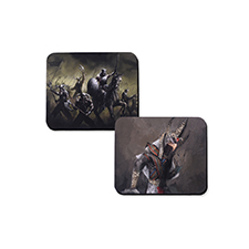 Custom Imprint 11.4X9.4 Rubber Gamemat, 2-sides