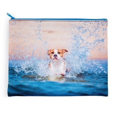 Personalized Images 11x14 Neoprene Cosmetic Bag (Same Image)
