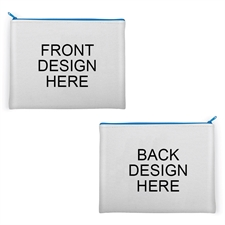 Personalized Images 11x14 Neoprene Cosmetic Bag (Different Images)