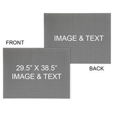 29.5 x 38.5 Personalized 2-Sided 2000 Piece Photo Puzzle - Landscape