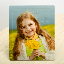 Custom Puzzle With Frame, Vertical