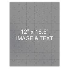 Personalized Magnetic 12X16.5 Portrait,285 Or 54 Piece Photo Puzzle
