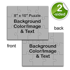 Custom 2 Sided Puzzle