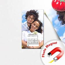 Create Calendar Save The Date Portrait 2x3.5 Card Size Magnet