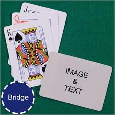 Bridge Size Playing Cards Standard Index Landscape