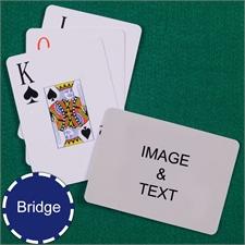 Bridge Size Playing Cards Jumbo Index Landscape