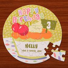 Baby Cake Birthday Round 7 1/4