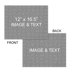 Personalized Custom Front And Back 285 Piece, 54 Piece, 24 Piece Personalized Photo Jigsaw Puzzle Photo Puzzle