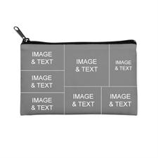 Seven Collage Medium (2 Side Different Image) Makeup Bag (5 X 8 Inch)