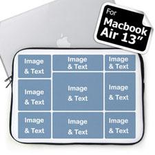 Nine Collage Macbook Air 13 Sleeve