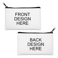 Custom Full Color Print Medium (2 Side Different Image) Makeup Bag (5 X 8 Inch)