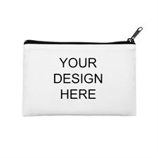 Custom Full Color Print 6X9 Cosmetic Bag Black Zipper (2 Side Same Image)