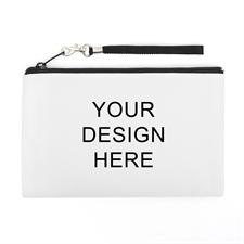 Personalized Custom Full Color Print (2 Side Same Image) Wristlet Bag (5x8)