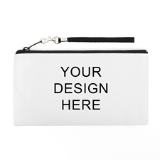 Personalized Custom Full Color Print 5.5X10 (2 Side Same Image) Clutch Bag