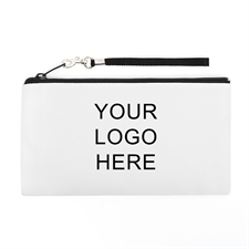 Personalized Custom Imprint Promotional 5.5X10 (2 Side Same Logo) Clutch Bag