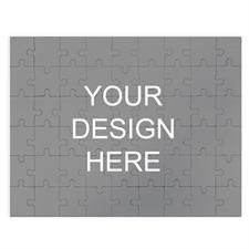 285 Piece, 54 Piece, 24 Piece 12X16.5 Personalized Photo Jigsaw Puzzle
