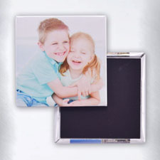 Photo Gallery Square Photo Magnet