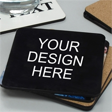 Custom Imprint Full Color Cork Coaster
