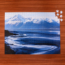 18x24 Personalized Photo Gallery 70 or 252 or  500 Piece Puzzle