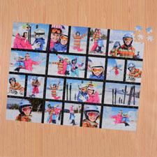 Black Twenty Collage 18 X 24 Photo Puzzle
